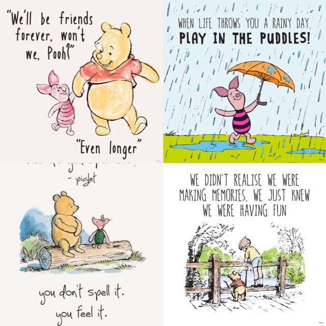 Rainy Day Inspirational Quotes: When Life Throws You A Rainy Day Play In The Puddles Pooh Bear